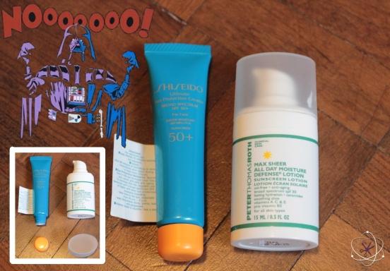 protetores solares shiseido peter thomas roth