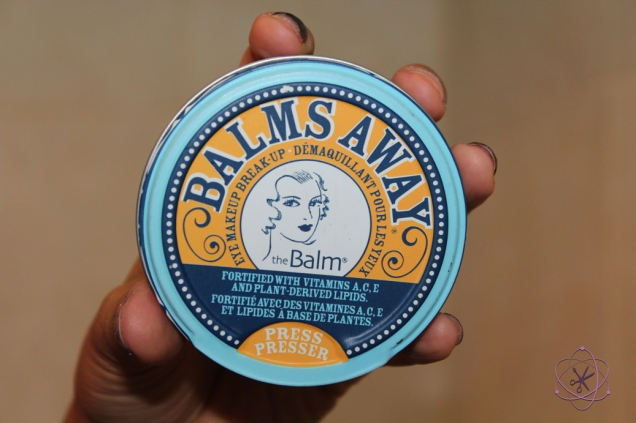 demaquilante balms away da the balm