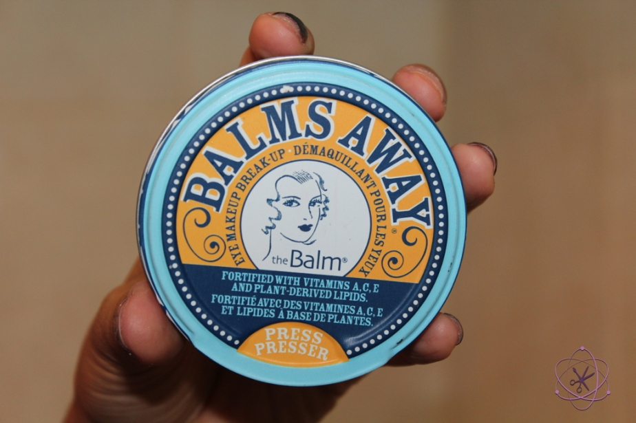 demaquilante balms away da the balm