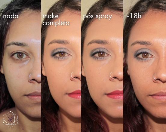 e.l.f makeup mist & set test com base tarte Maracuja Miracle Foundation 12-Hour Broad Spectrum SPF 15